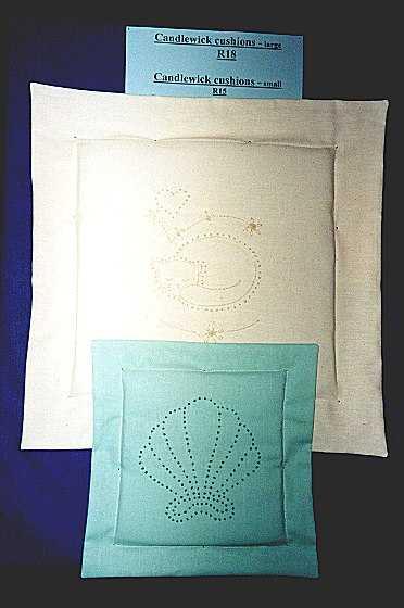 Basic candlewick cushion