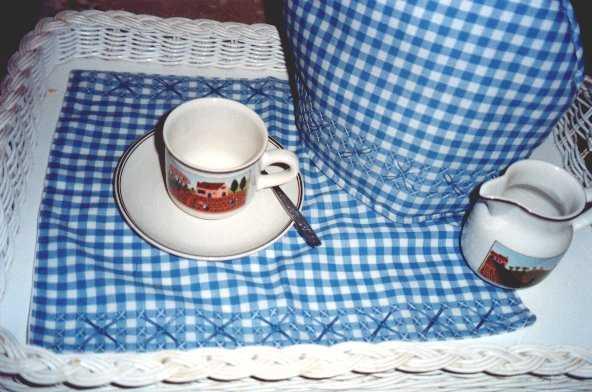 Tea Cosy & Tray Cloth