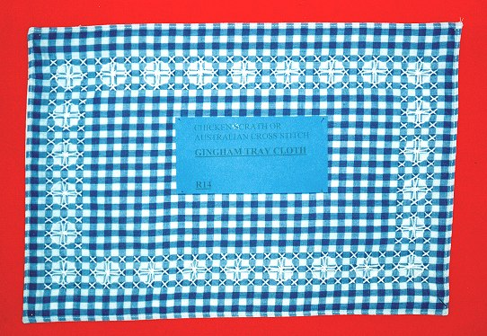 Australian Cross Stitch Tray Cloth