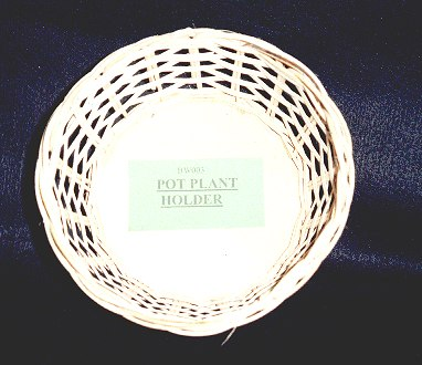 Potted plant basket